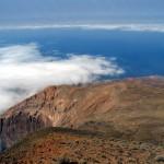 La vue du point culminant de l'île, le Tope de Coroa (1980m)