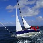 Un Yaka 6.50, un autre bateau du chantier Marée Haute