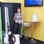 Merci pour ton sourire et avec Carole Bourlon de Watt&Sea pour votre soutien matériel concernant votre très efficace hydrogénérateur !!