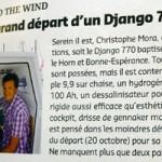 Le grand départ d'un Django 770
