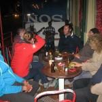 Bar/concert de Mindelo avec retrouvaille de Morgan & Cécilia