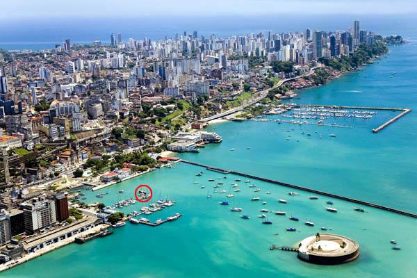 Salvador de Bahia et son Terminal Náutico