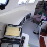 Visite guidée de mon petit intérieur, côté bâbord le PC...