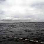 Salvador de Bahia au loin