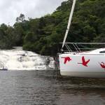 La cachoeira de Tremembé et L'Envol qui lévite !