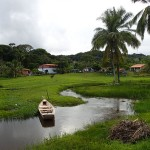 Le petit village de Tapuia,