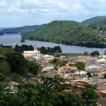 La petite ville de Cachoeira rejoind en bus depuis Maragogipe