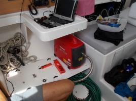 L'installation du générateur et de son échappement
