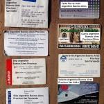 Cartes de visite...
