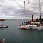 Les 3 seul voiliers du coin dont un bateau de charter