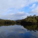 Le canal Alejandro, truffé d'îles et d'îlots
