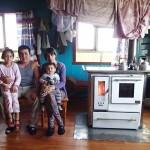 Marcelo, Pilar et leurs enfants Stephania et Anthony