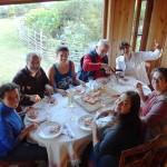 Soirée pizza-maison chez Horacio et Ligia