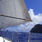 Passage entre l'île de Pâques et le Motu Kaokao