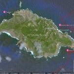 Les mouillages de Pitcairn Island
