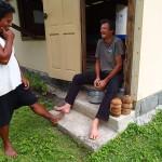 Troisième leçon : le râpage de coco