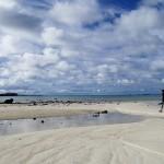 Le seuil entre les motus Tepapuri (9) et Teauaone au Nord de l'archipel