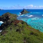 Crête Sud, la pointe Terua Mago et l'île Makapu