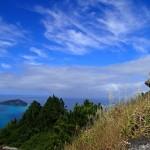 Mont Duff, au fond l'île d'Aukena