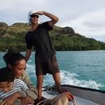 Rémi et sa famille, slalom entre le corail