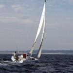 Première sortie en mer