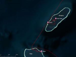 Atoll de Amanu, Tuamotu