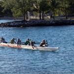 Un speed boat ancestral, la pirogue polynésienne