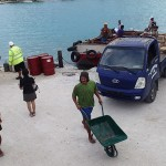 Effervescence, le cargo Taporo en provenance de Tahiti est arrivé !