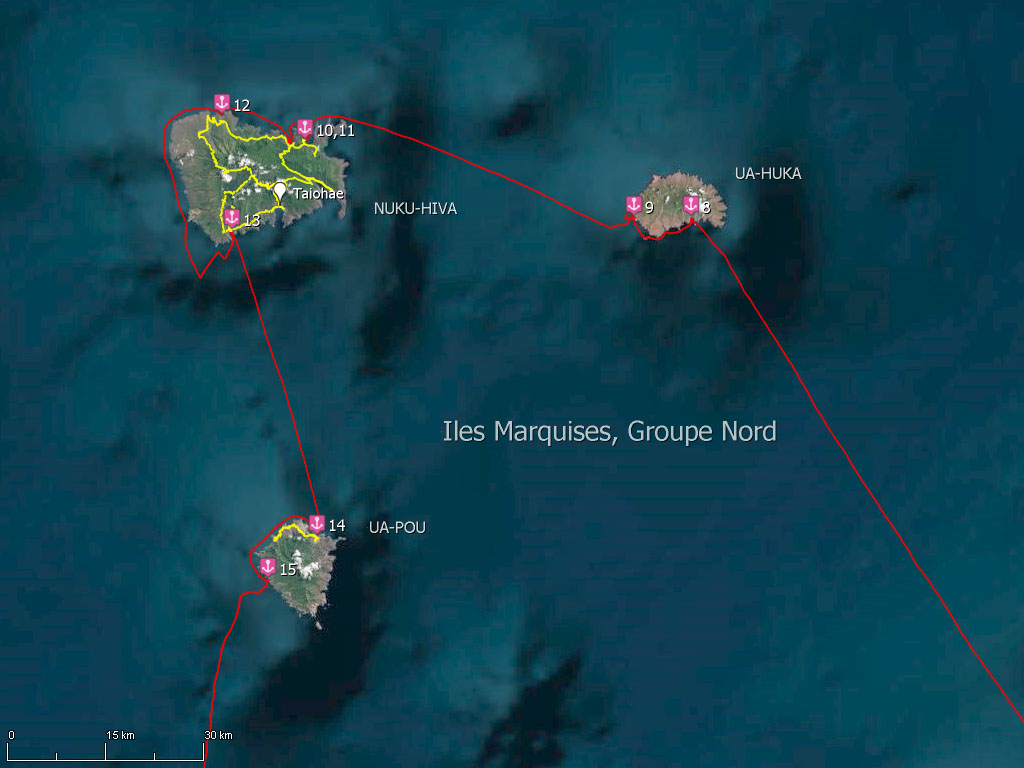Groupe Nord des îles Marquises