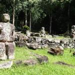 A Puamau, Takaii, le plus grand tiki des Marquises
