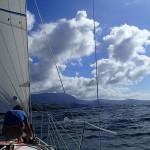 En approche de la baie de Anaho sur l'île de Nuku-Hiva