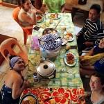 Mau et sa famille nous accueille chez eux pour une nuit à Taiohae