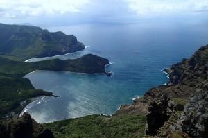 La baie de Taioa en forme de cœur, les anses de Hakatea et Hakaui