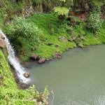Une cascade sur le plateau de Toovii