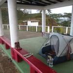 Camping du point de vue