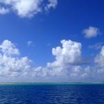 Reef Est de l'atoll de Raroia