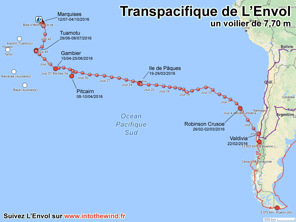Transpacifique de L'Envol
