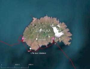 Les mouillages délicats de la côte Sud de l'île de Ua-Huka