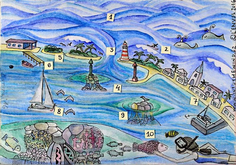 Les Tuamotu à la voile, un paradis pavé de dangers