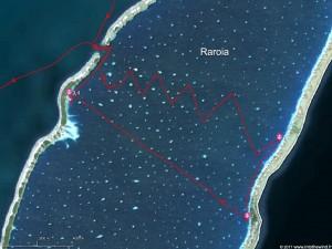 Voyage « interstellaire » dans l'atoll de Raroia
