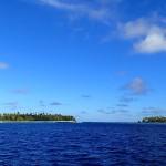 Passe NW de l'atoll de Apataki