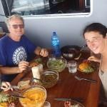 Retrouvaille avec Marc et Agnès sur Ieta