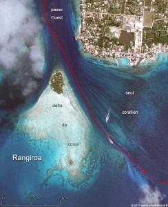 Tiens des bateaux nous montrent le chemin, merci les images satellites !