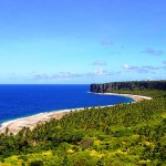 Côte Est vers le Sud, le site du village originel de Moumu