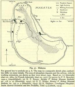 Carte d'exploitation du phosphate