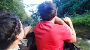 En stop à Huahine