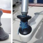 Réparation du diabolo de stick de barre