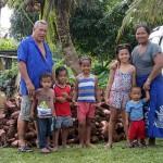 Famille de Tinei et Pita