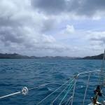 Le chenal entre les îles