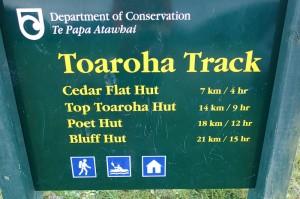 La profonde mais bien dotée Toaroha Valley